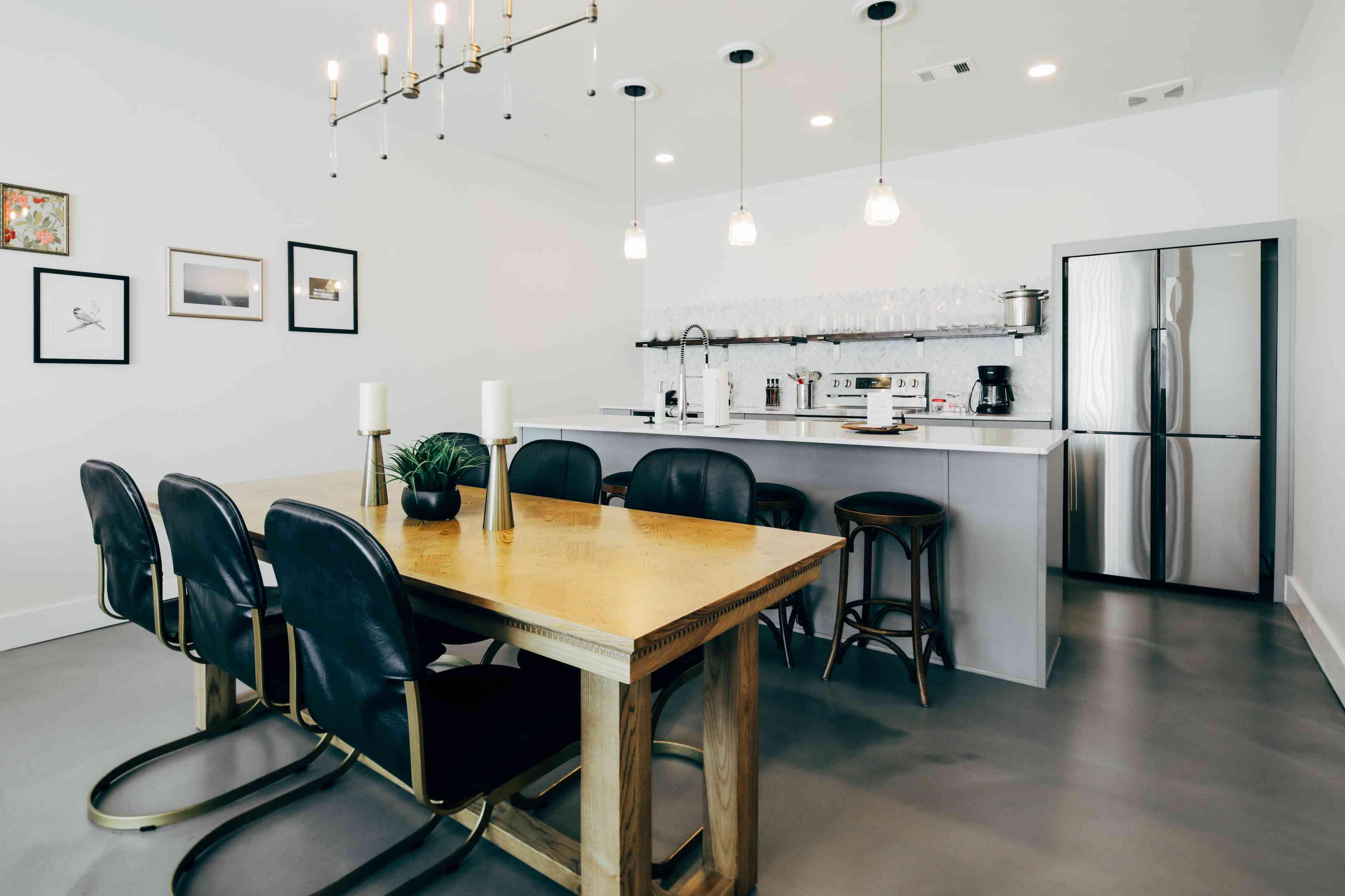 Colton House Hotel suite kitchen