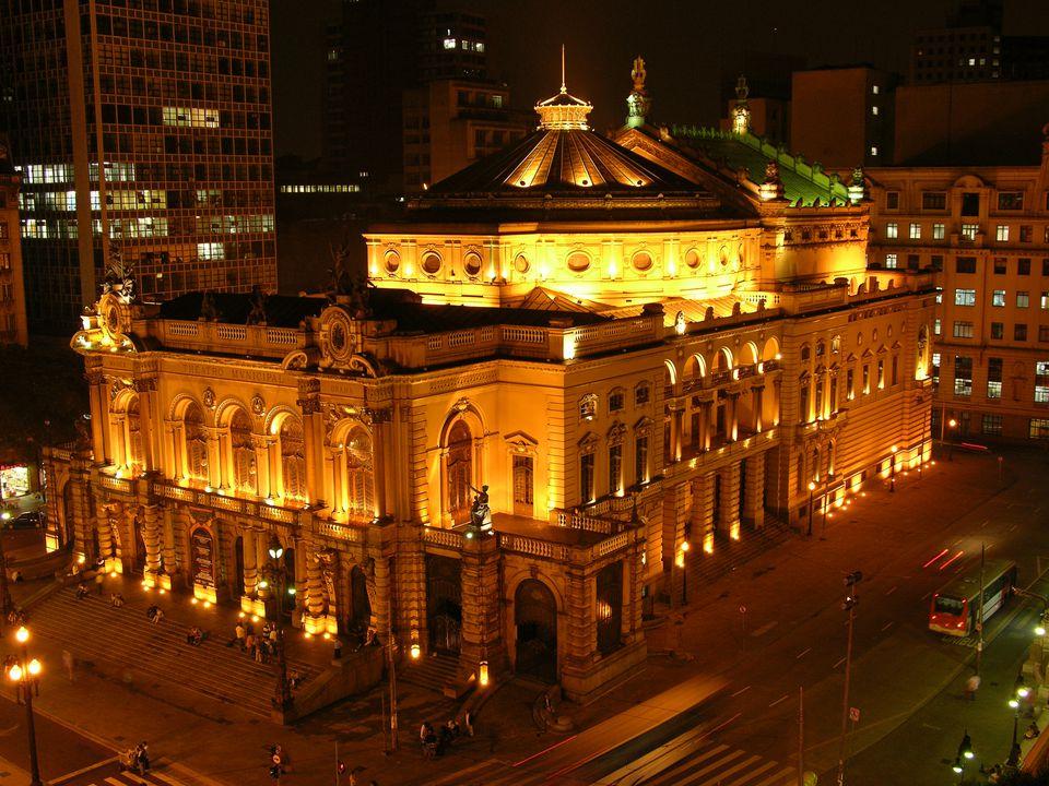Sao Paulo Municipal Theater