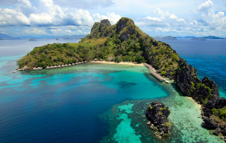 El Nido Resort on Apulit Island in the Philippines