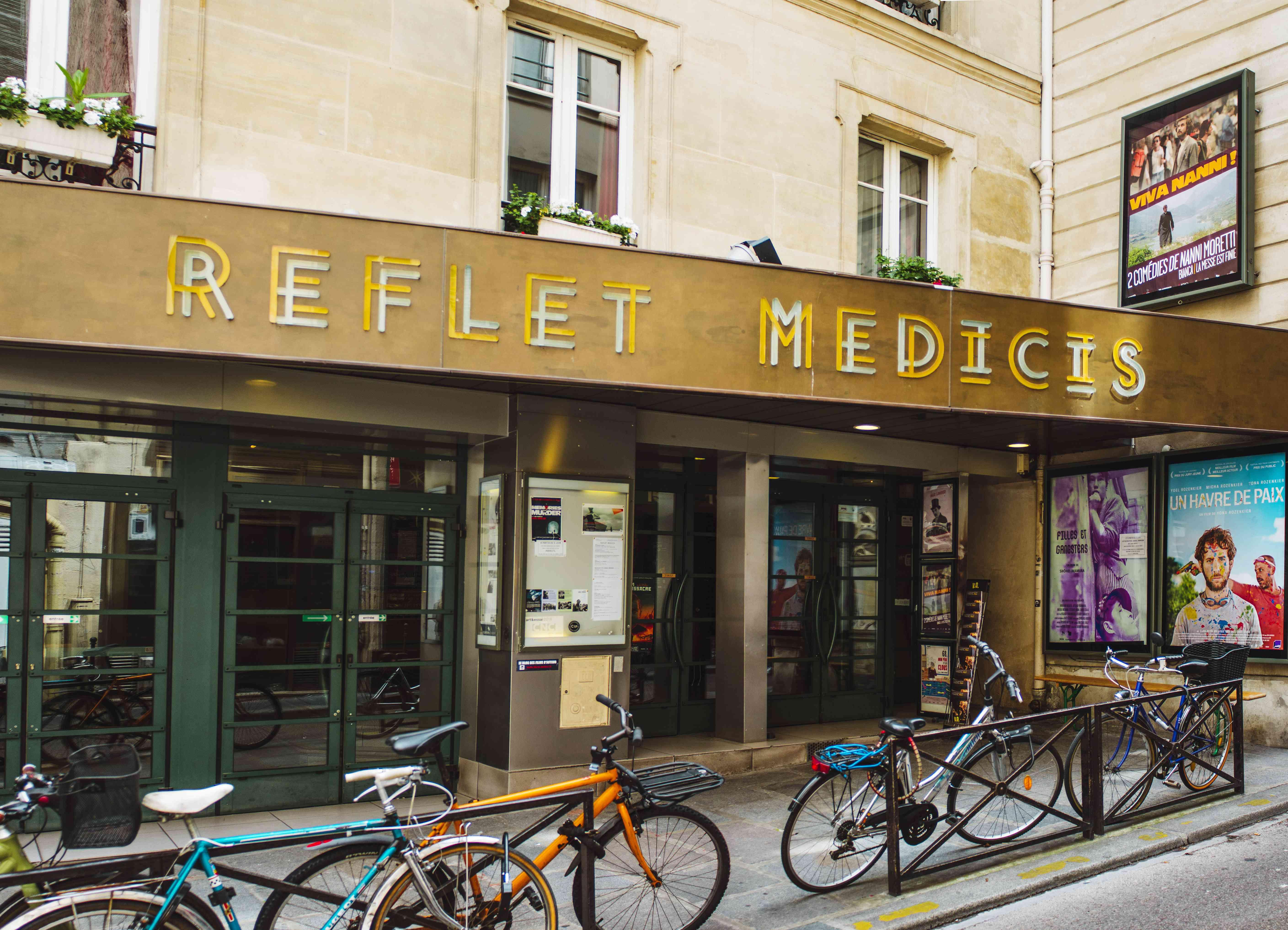 Entrance to Reflet Medicis