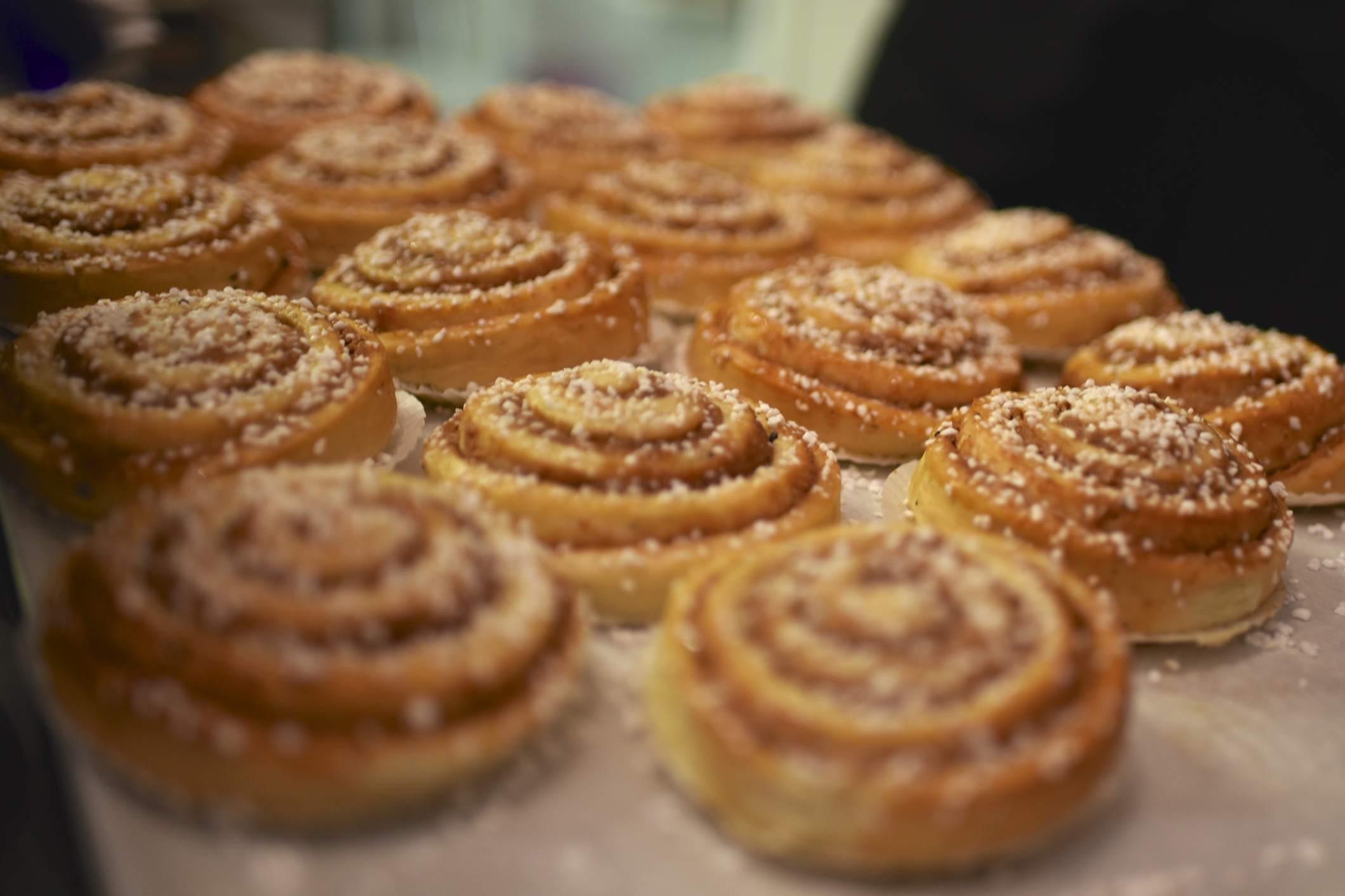 Swedish Cinnamon buns or rolls (Kanelbullar)