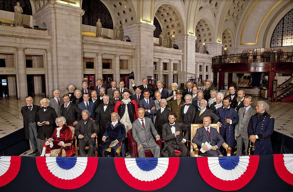 44 United States Presidents at Union Station