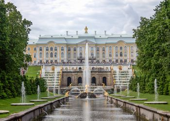 Fountains at Peterhof