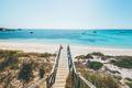 Beach at Rottnest Island off the coast of Perth