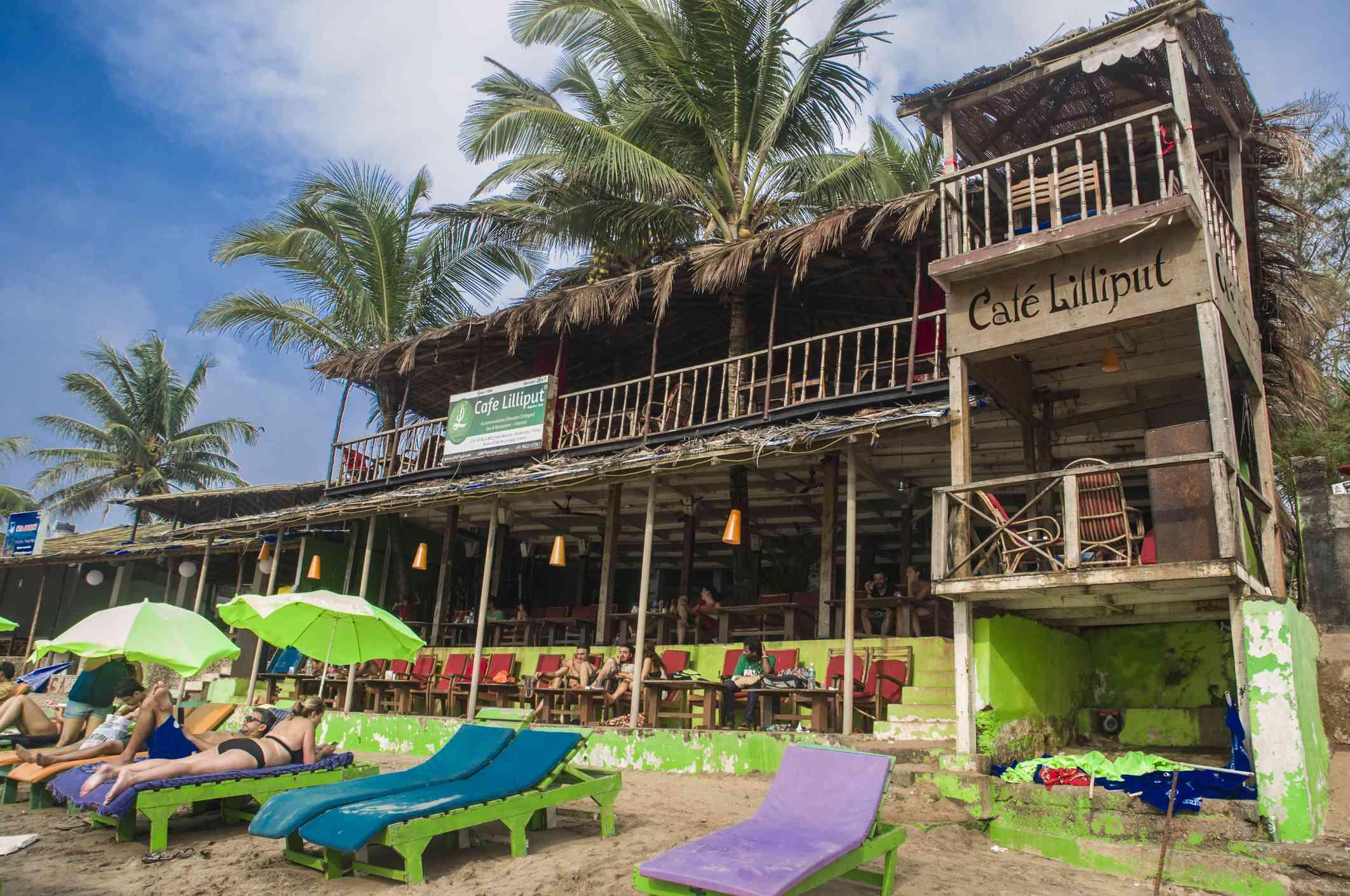 Cafe Lilliput, Goa