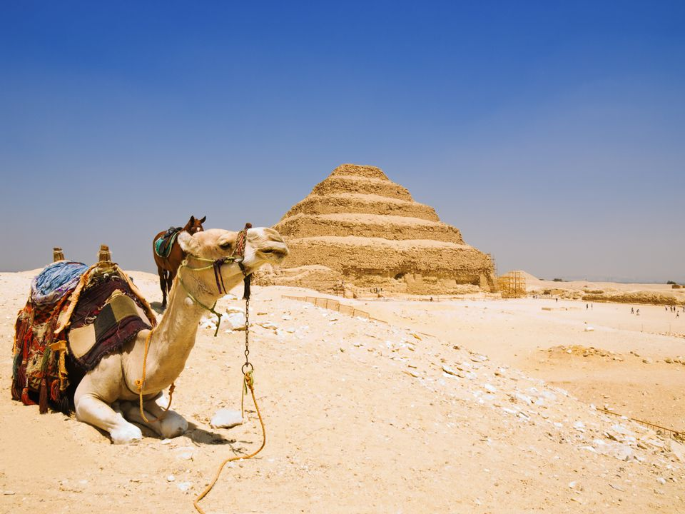 Great step pyramid of Djoser, Saqqara