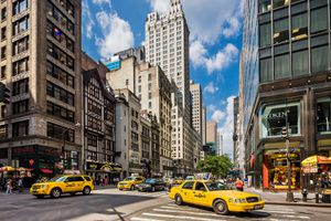 Fifth Ave in New York City