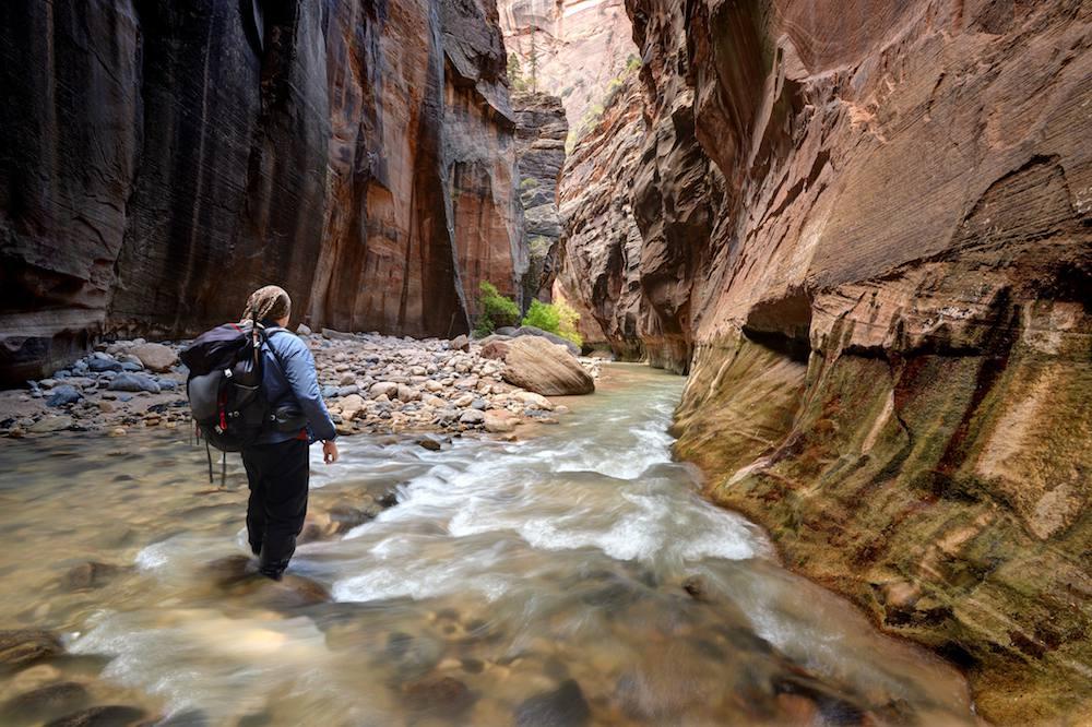 Zion Narrows - Zion National Park
