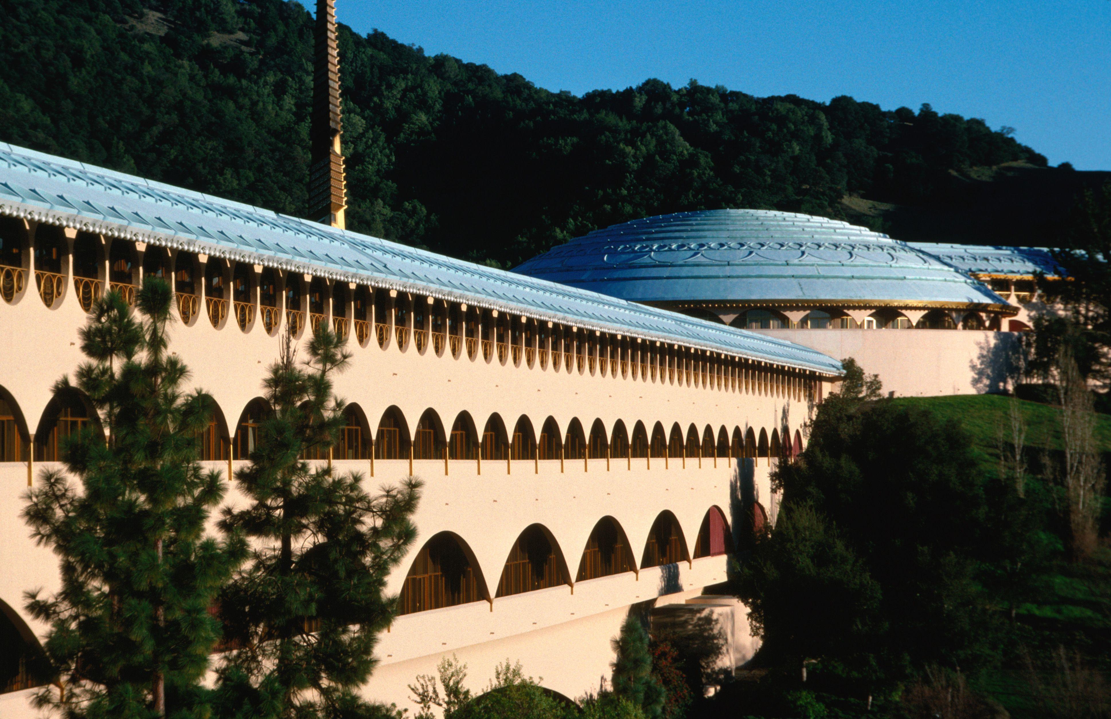 Marin City Civic Center por Frank Lloyd Wright en San Rafael, San Rafael, California, Estados Unidos de América, América del Norte