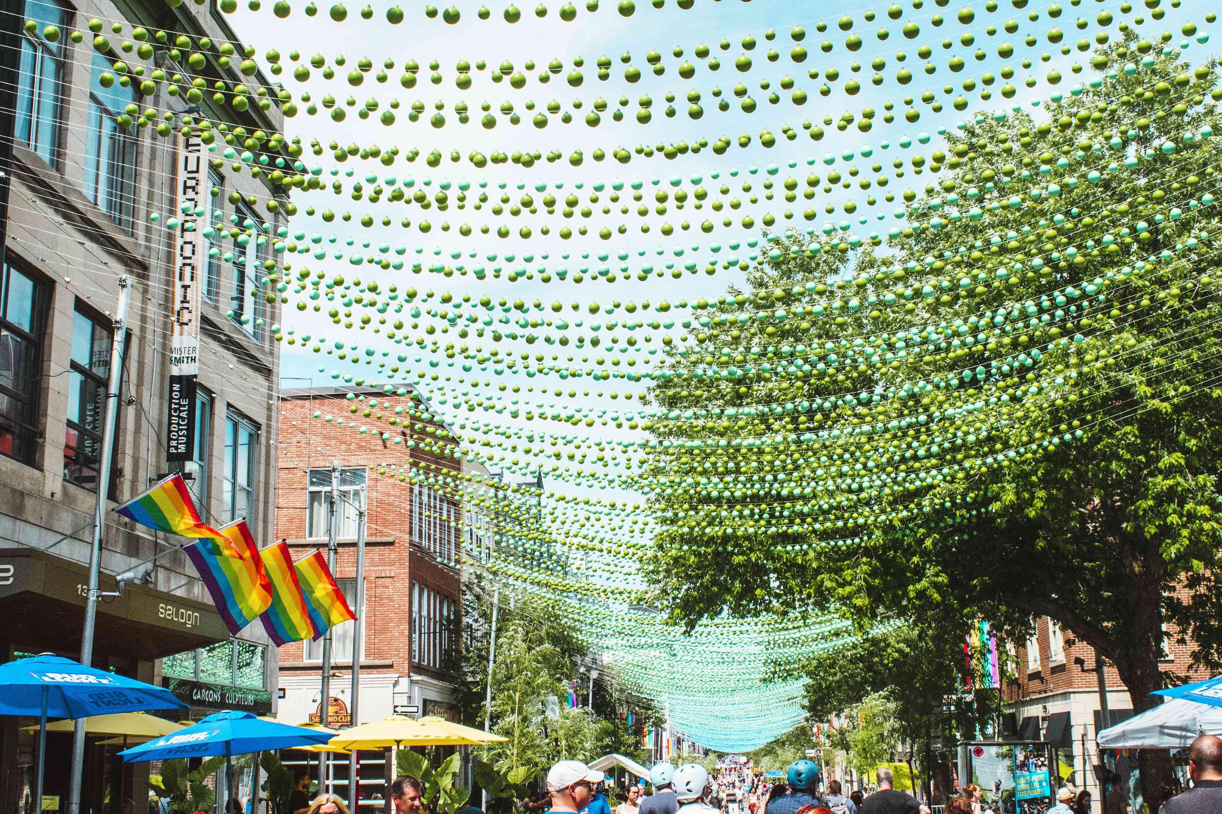Ste Catherine en Montreal