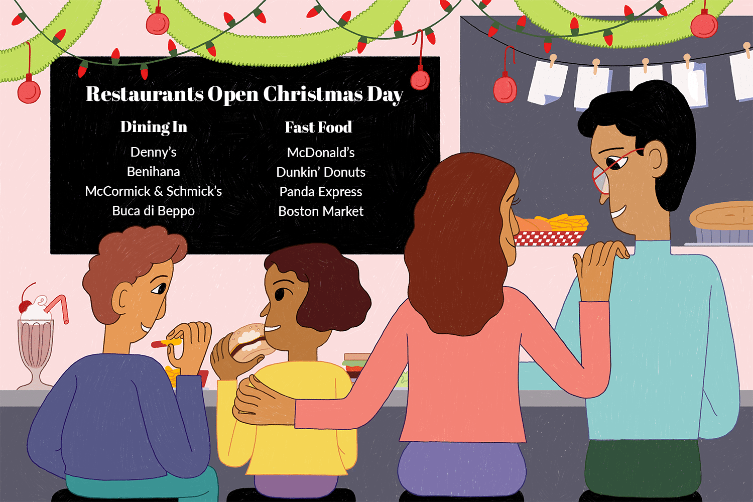 Fast Food Open On Christmas Day.List Of Restaurants Are Open On Christmas Day 2018