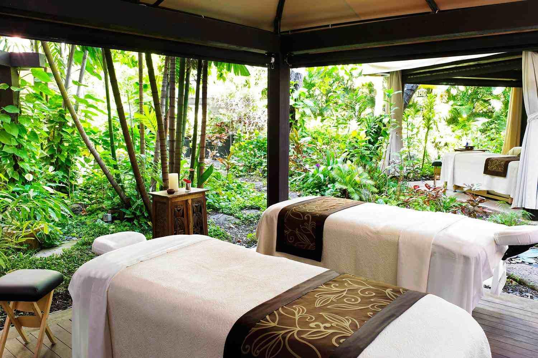massage area at royal hawaiian spa