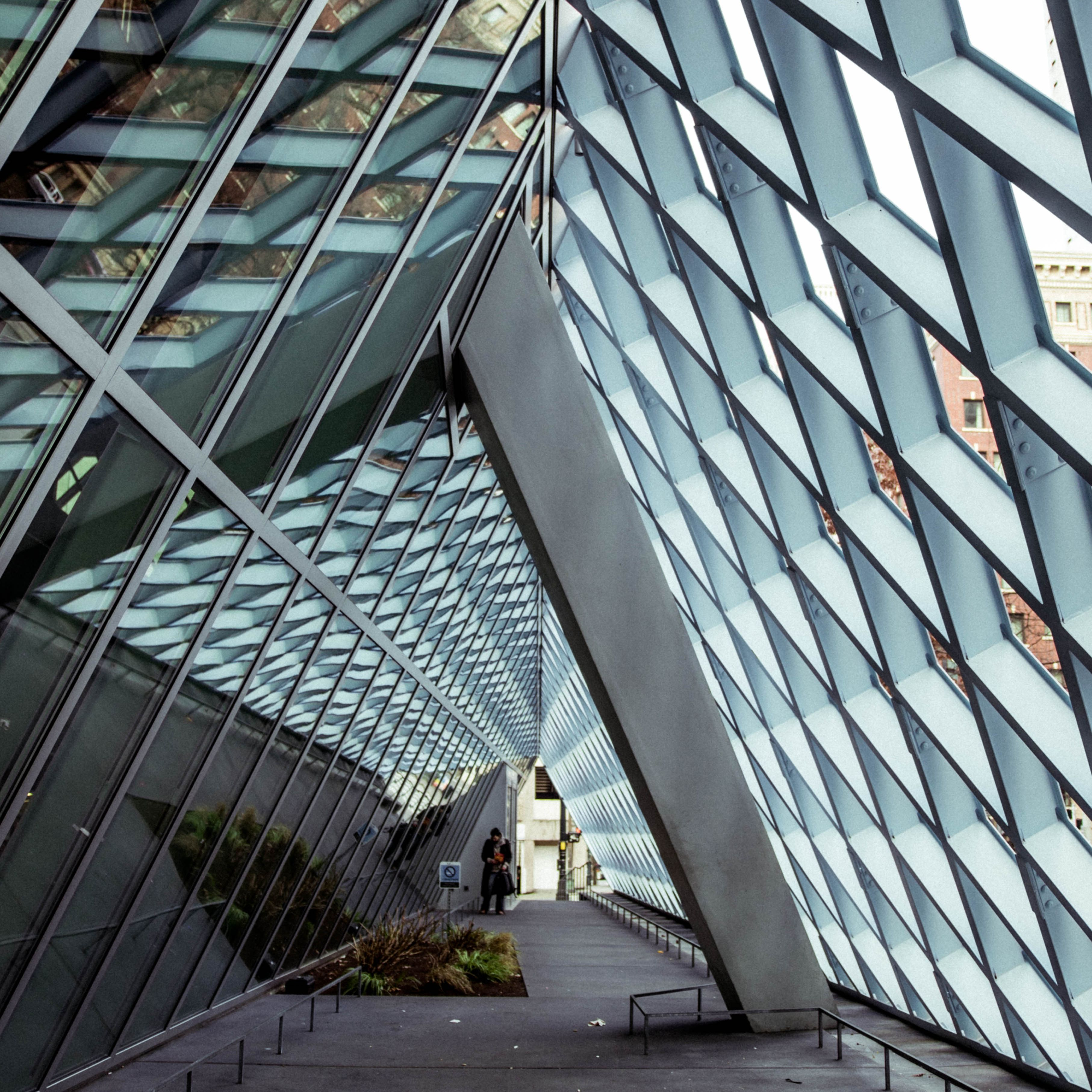 Inside the Seattle Library