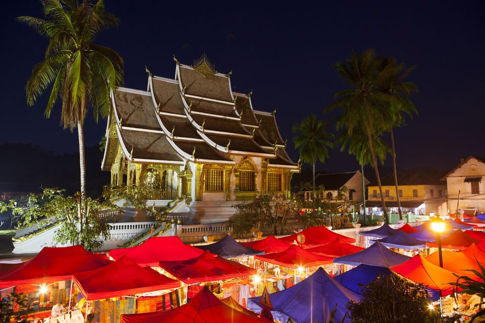 Luang Prabang Night Market, near National Museum