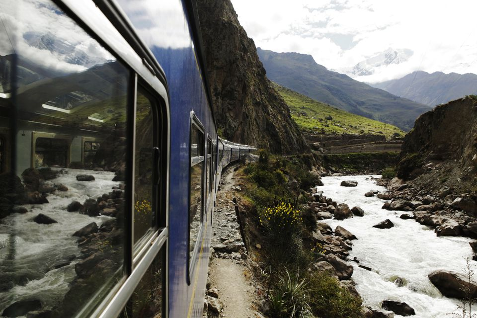 Train in Sacred Valley