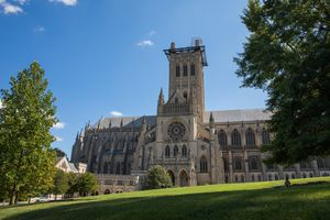 Exterior of the National Cathedral