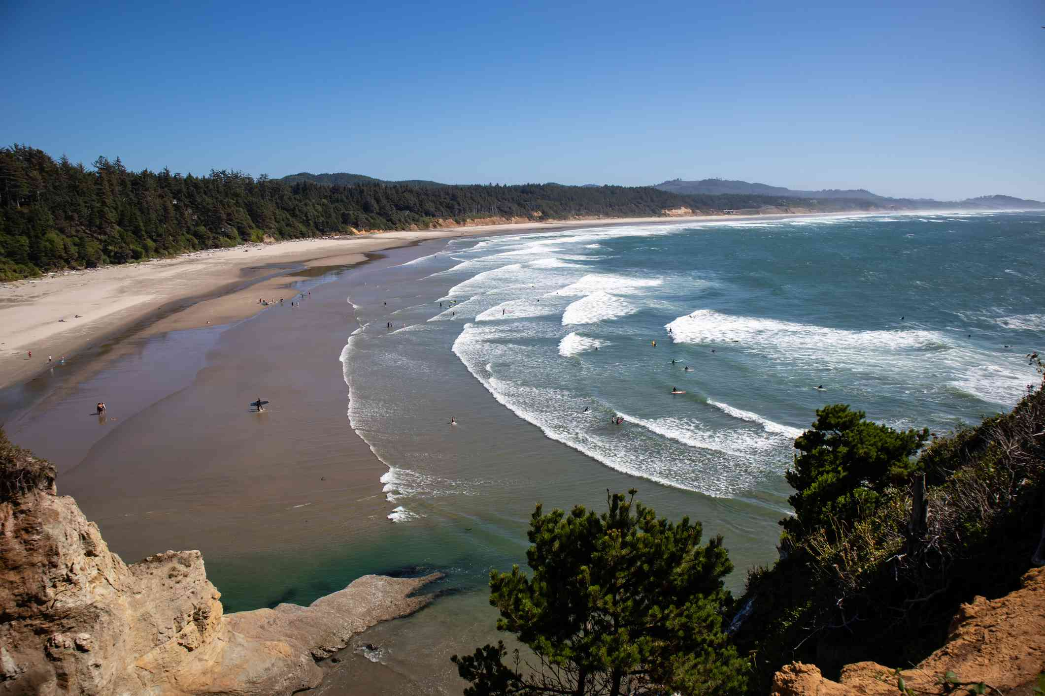 Otter Crest State Scenic Viewpoint at Devils Punch Bowl, Otter Rock, Oregon