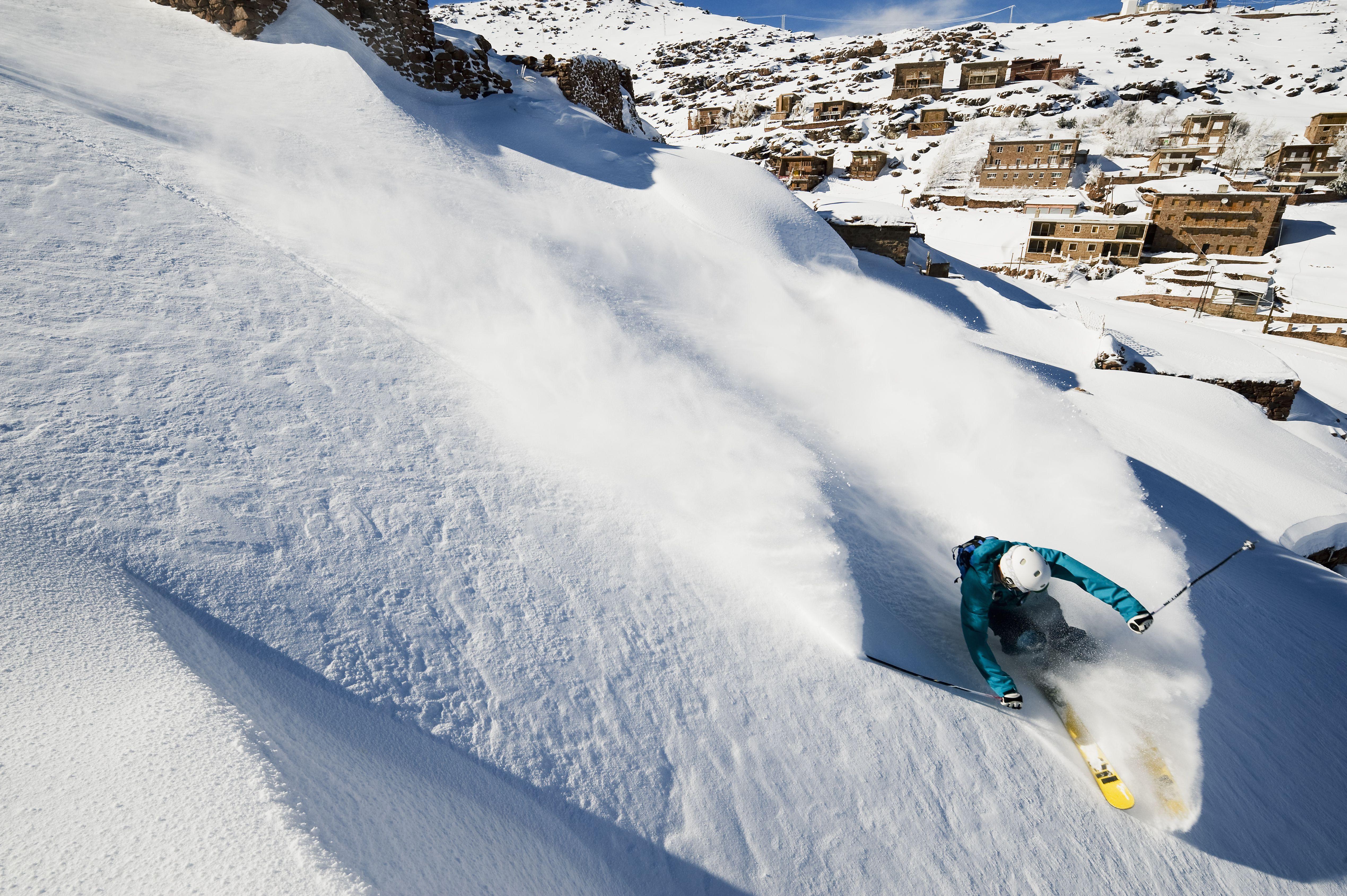 Esquiar en Oukaïmeden