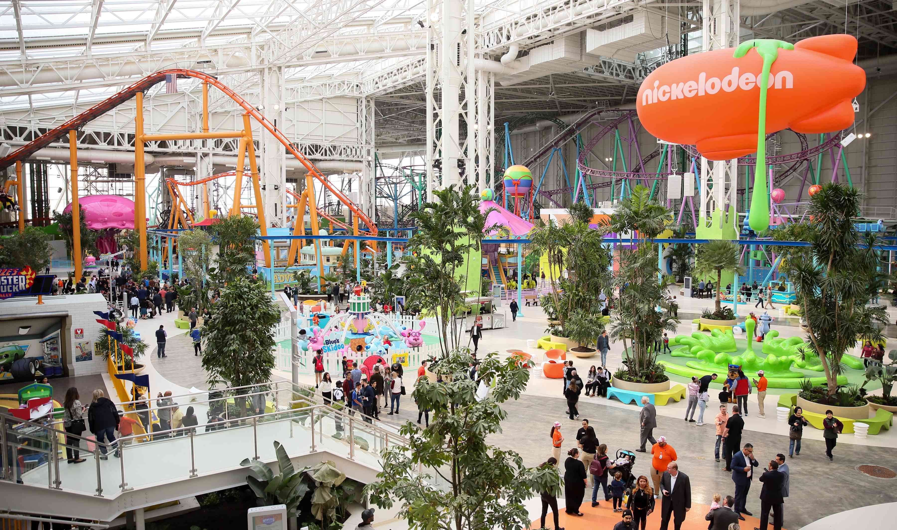 Nickelodeon Universe theme park in New Jersey