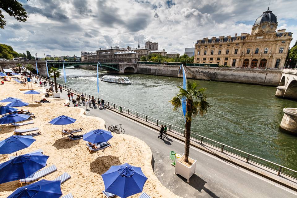 Pop Up Urban Beaches en París