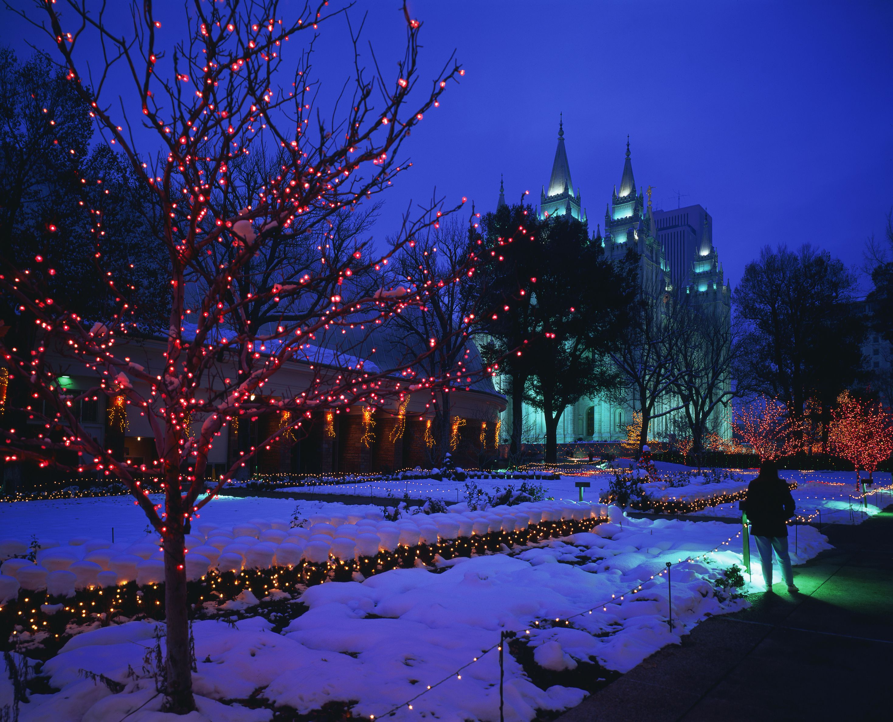Snow For Christmas.Things To Do For Christmas In Salt Lake City Utah