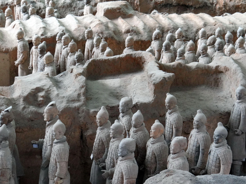 The Terra Cotta Warriors of Xi'an