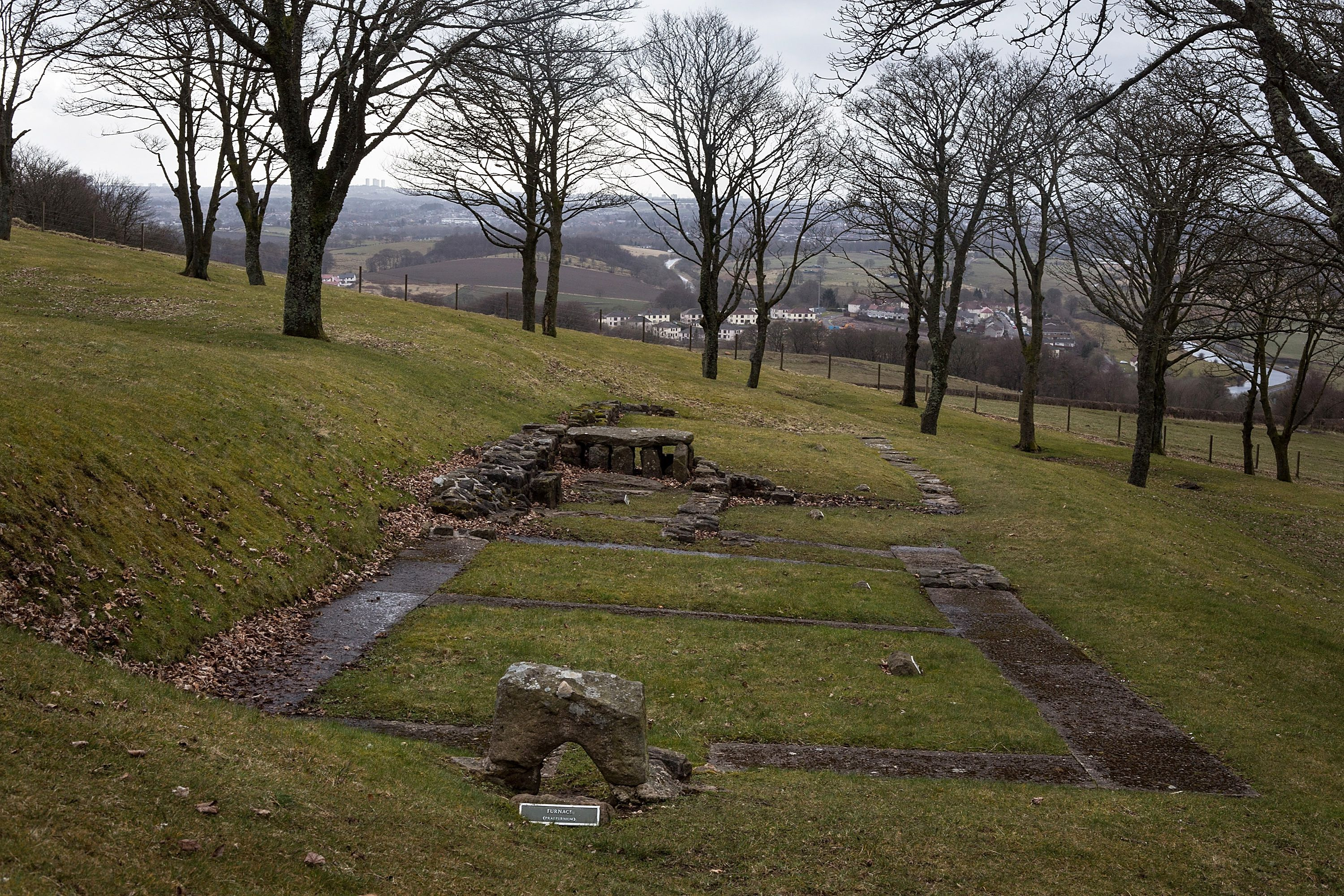 The Scottish Antonine Wall Formed The Outer Edge Of the Roman Empire