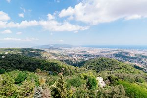 View of Barcelona from Mount Tibidao