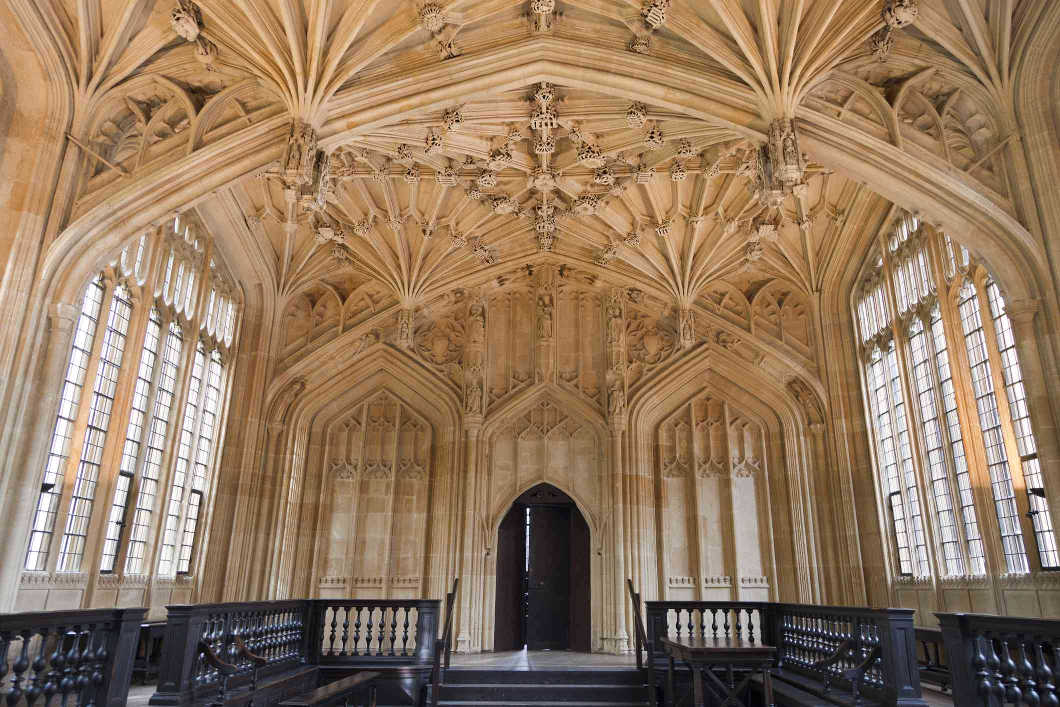 The Divinity School of the Bodleian Library