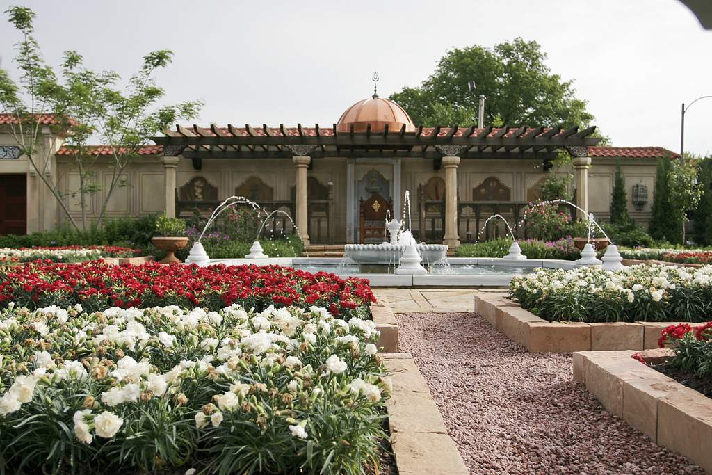 Ottoman Garden at Missouri Botanical Garden