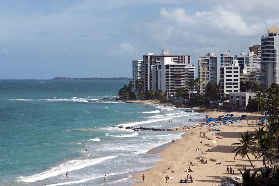 Hoteles frente al mar, Condado, Puerto Rico