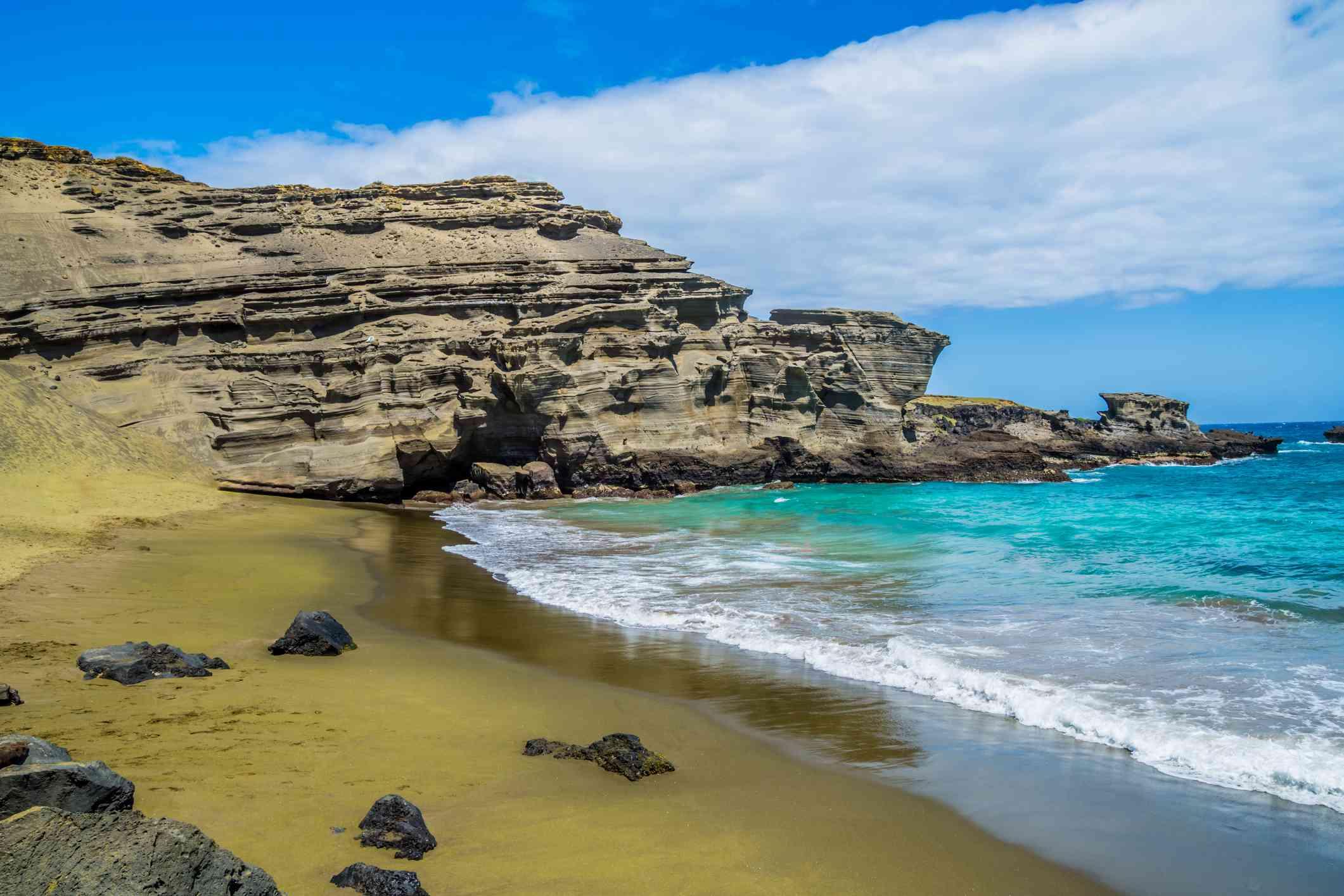 Papakōlea Beach, Hawaii Island, Hawaii