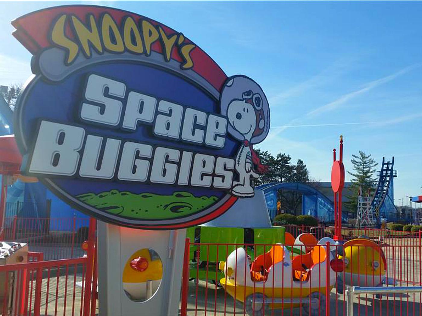 Kings Island Space Buggies