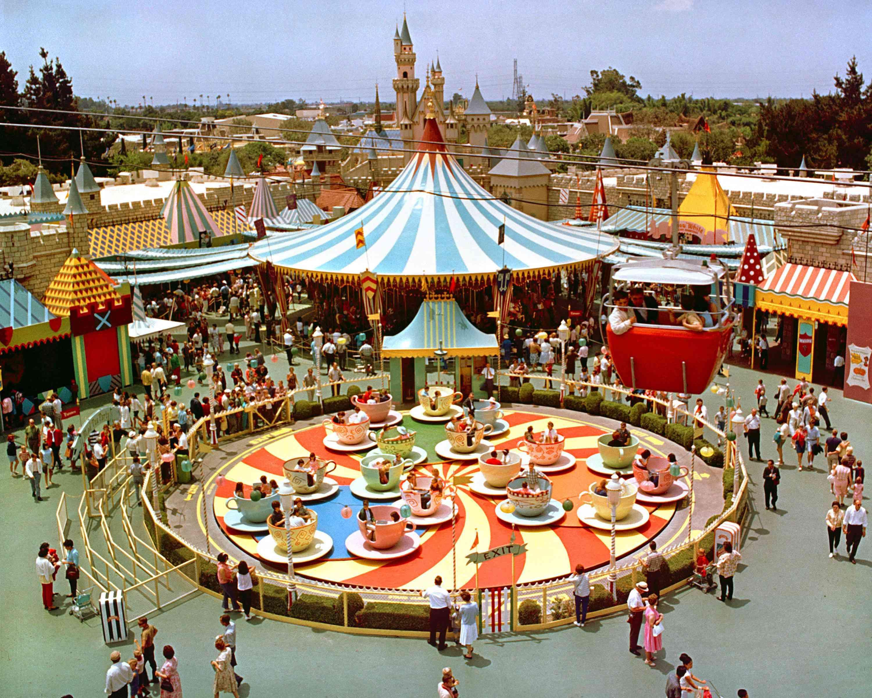 Disneyland On Opening Day