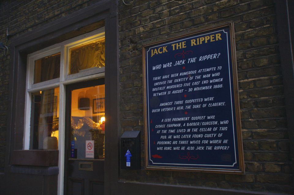 Jack The Ripper, London, England, UK
