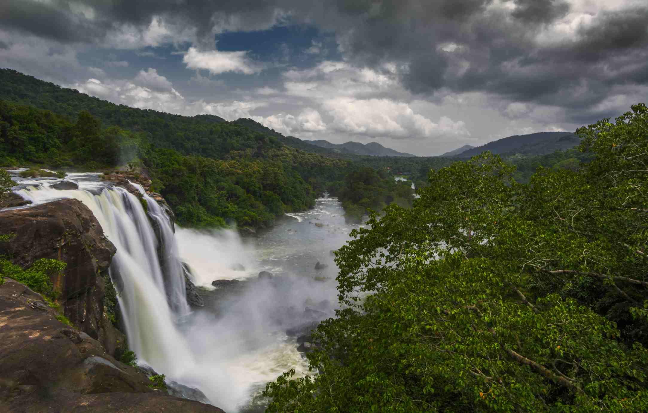 Athirappally waterfalls, Kerala, India