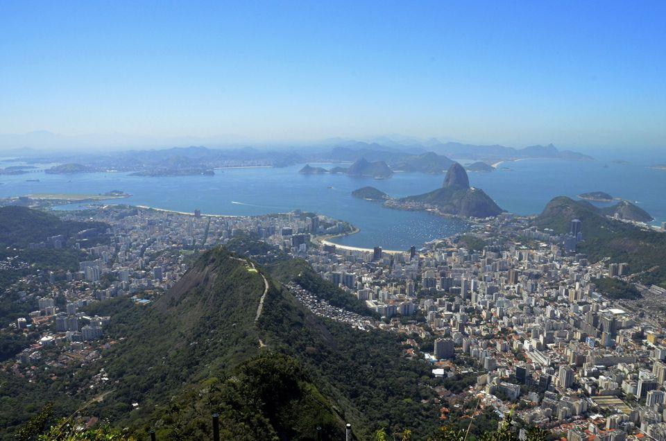 Long view of Rio de Janeiro