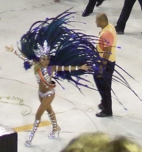 Carnaval Samba Parade in Rio de Janeiro