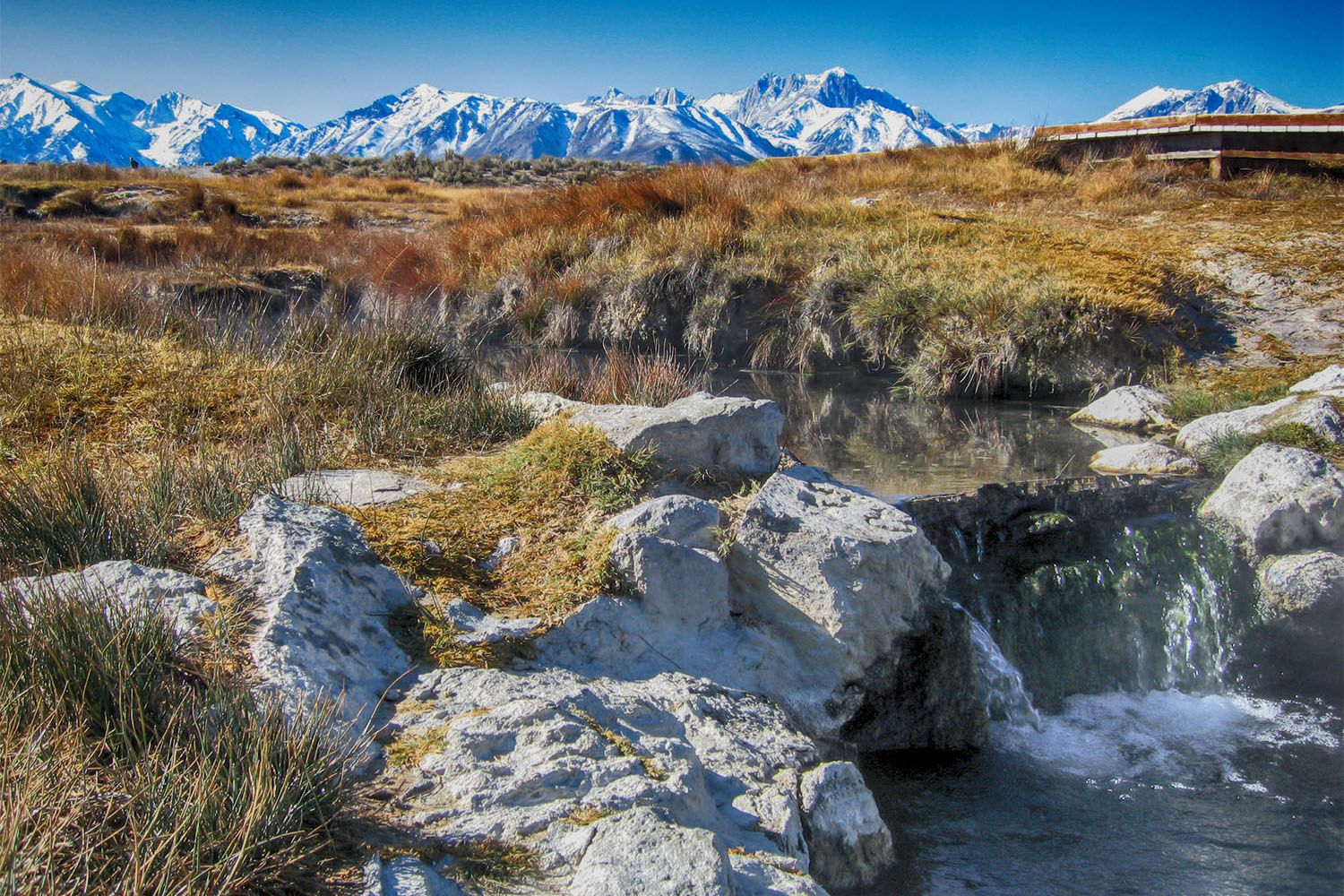 Best Natural Hot Springs In Eastern California