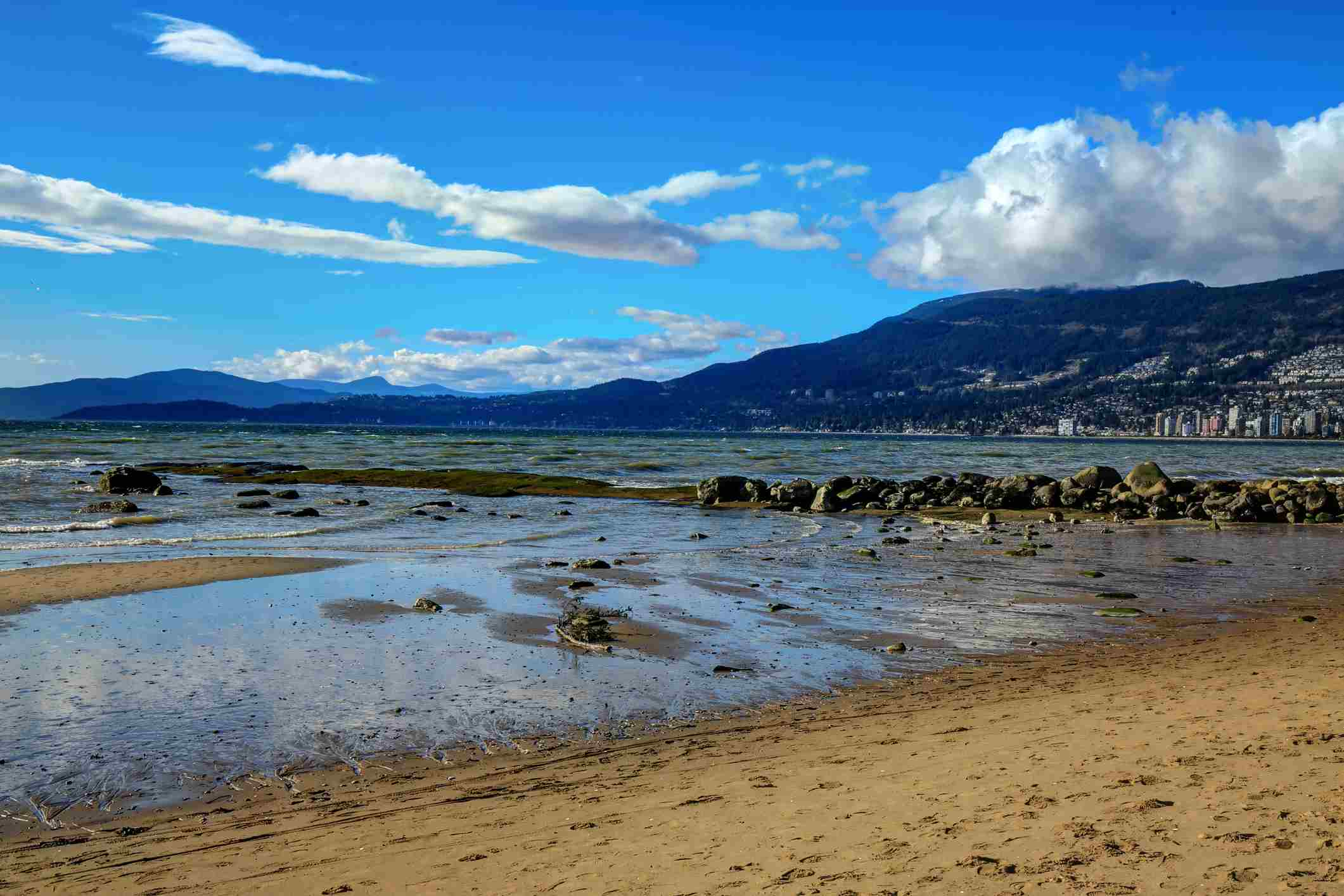 View from Third Beach in Stanley Park
