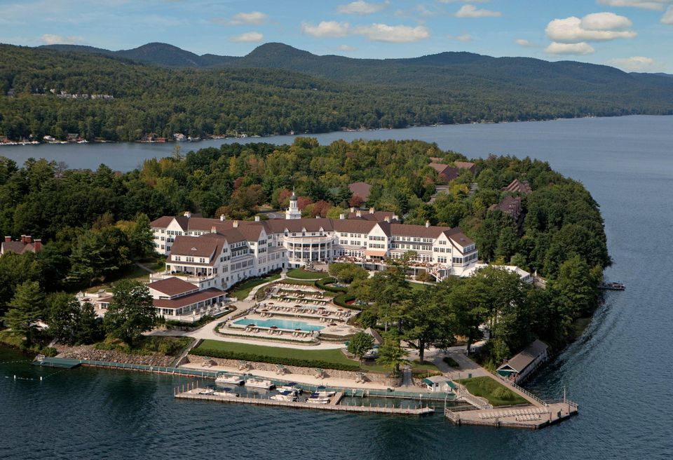 Generations of discerning visitors have enjoyed The Sagamore, perched on Lake George in upstate New York's Adirondacks Mountains.