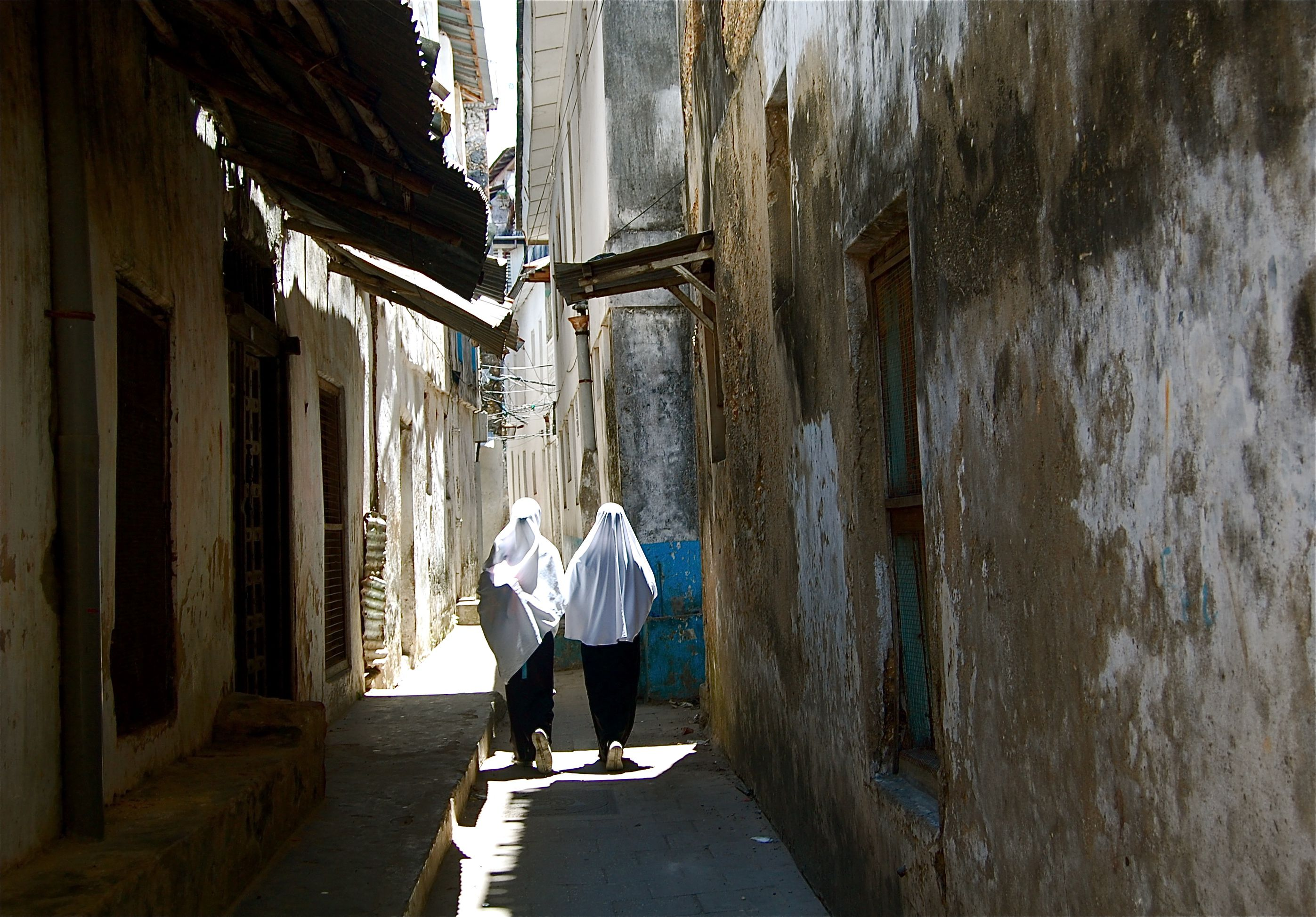 Streets in Stone Town, Zanzibar