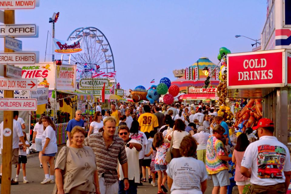 Photo of the State Fair of Virginia Midway