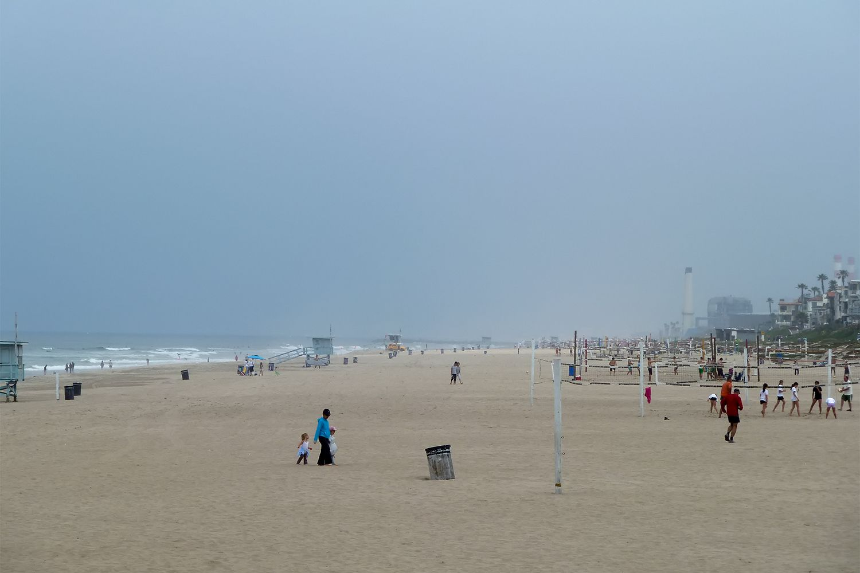 June Gloom at Manhattan Beach