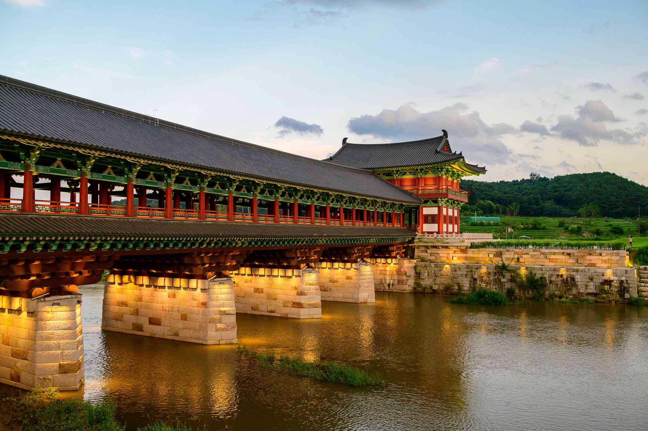 Woljeonggyo bridge in Gyeongju