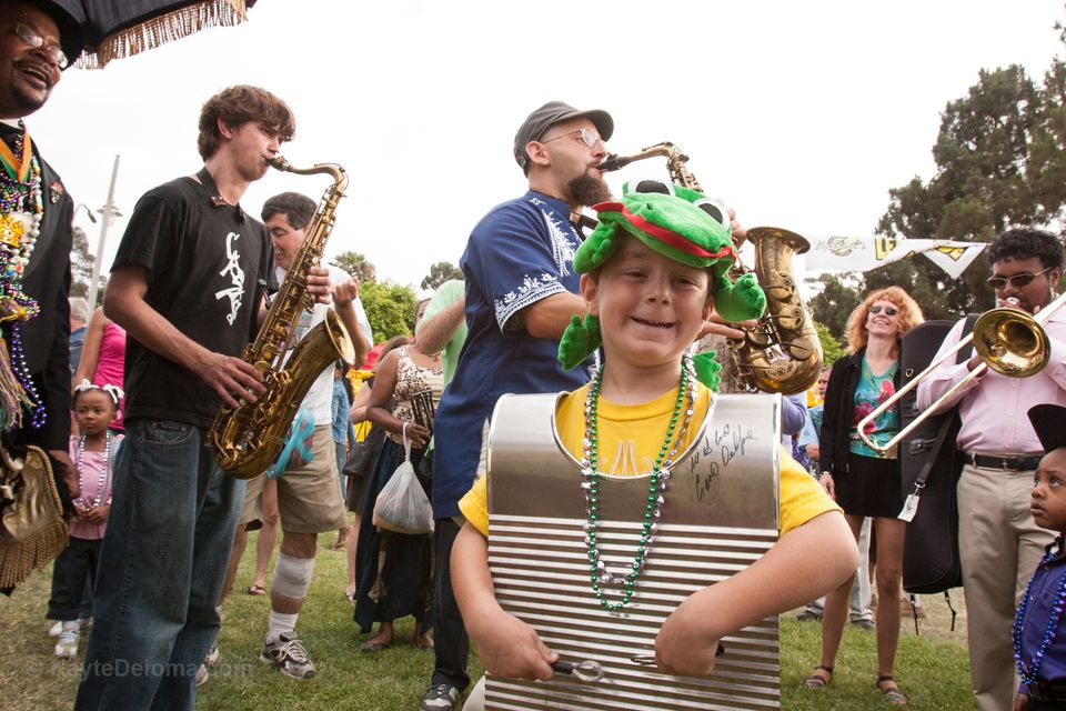 Family fun at the Long Beach Bayou Festival