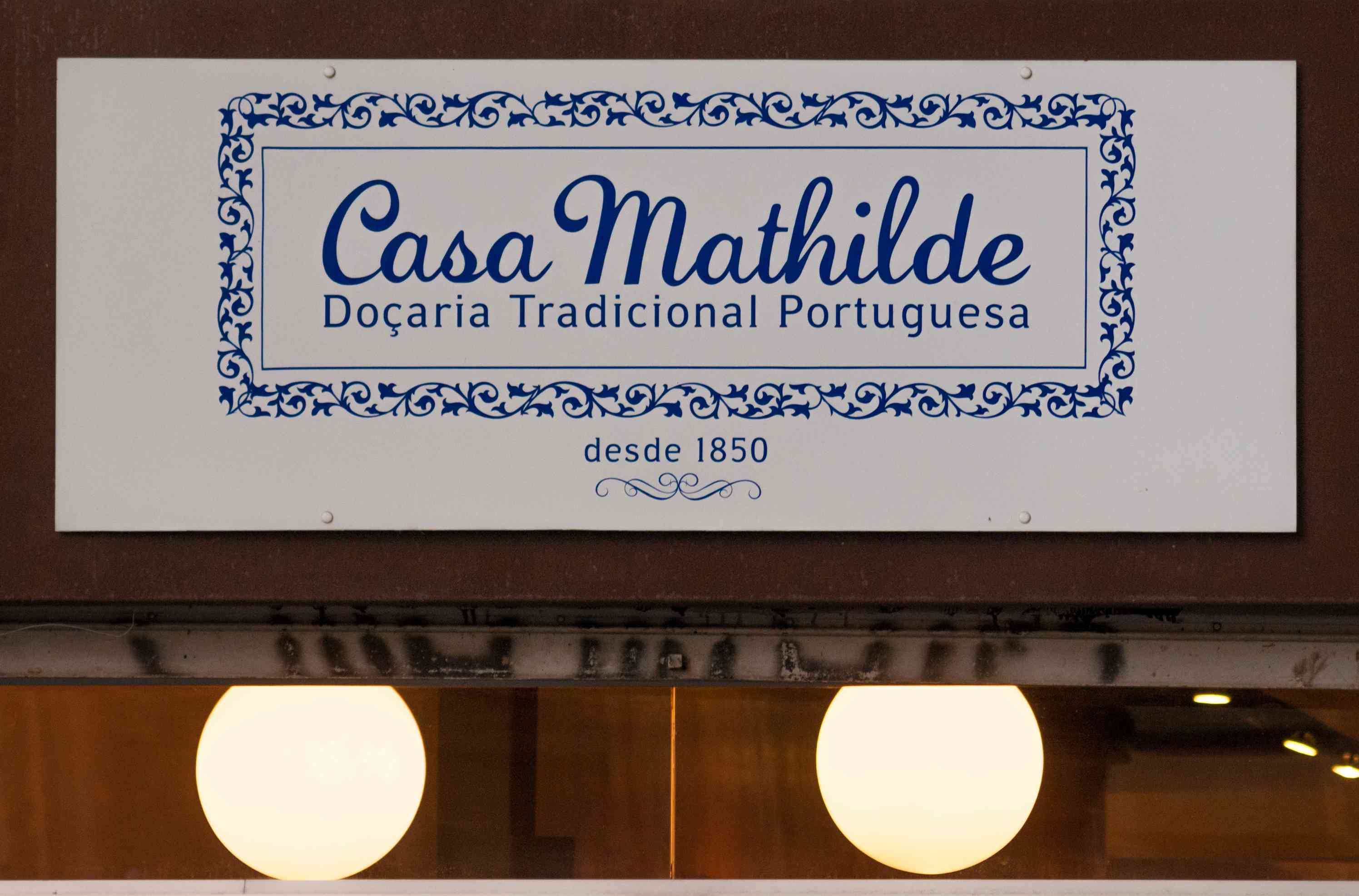 Casa Mathilde sign