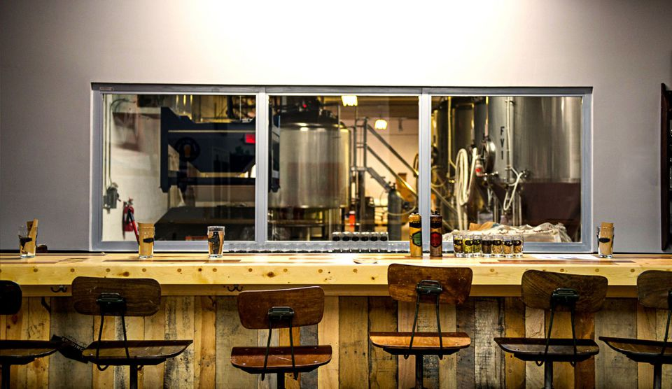 el bar en Wynwood Brewing