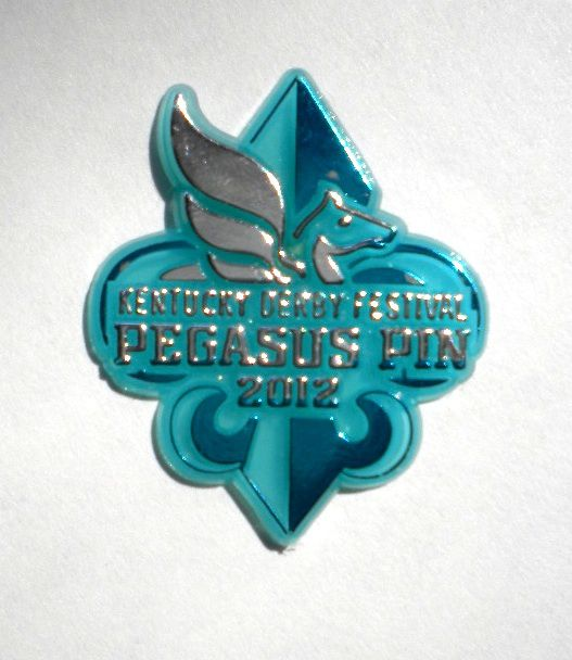 A Kentucky Derby Festival Pegasus Pin from 2012