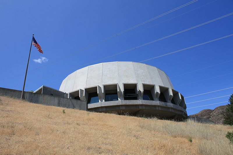 Grand Coulee Dam Visitor Arrival Center